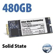 OWC Aura 6G SSD for 2012 / Early 2013 MB Pro Retina 480GB