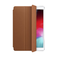 Leather Smart Cover for iPad Air 10.5 /iPad 10.2  - Saddle Brown