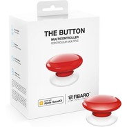 Fibaro The Button  HomeKit compatible  - Red