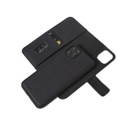 Decoded Leather Detachable Wallet for iPhone XR/11 - Black