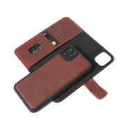 Decoded Leather Detachable Wallet for iPhone XR/11 - Brown