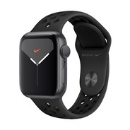Apple Watch Nike Series 5 44mm - Space Grey Aluminium - Black Sport Band