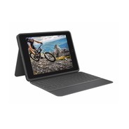 Logitech Rugged Folio Keyboard for iPad 10.2  - Black