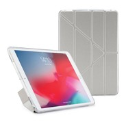 Pip by Pipetto TPU Metallic Origami Case iPad Air 10.5 / Pro 10.5 - Silver Clear