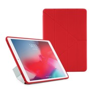 Pipetto Origami No1 TPU Case  iPad Air 10.5 / Pro 10.5 - Red Clear