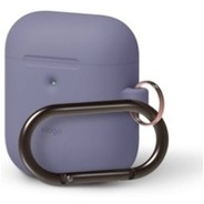 Elago Hang Case for Airpods  Wireless Charging Case  - Lavender Grey