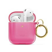 Elago TPU Hang Case for Airpods - Neon Hot Pink
