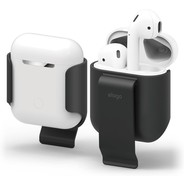 Elago Carrying Clip for Airpods - Black