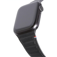 Decoded Leather Magnetic Traction Strap 42/44mm - Black