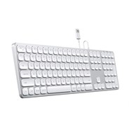 Satechi Wired Aluminum Keyboard for Mac - Silver