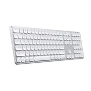 Satechi Wireless Aluminum Keyboard for Mac - Silver