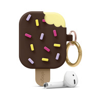 Elago IceCream Case for Airpods 1 2 - Chocolate