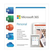 Microsoft 365 Personal NL  1 Mac/PC  1 Tablet  jaarabonnement  - Box