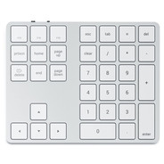 Satechi Bluetooth Wireless Extended Keypad - Silver