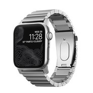 Nomad Steel Strap for Apple Watch 42/44mm - Silver