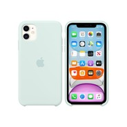 iPhone 11 Silicone Case - Seafoam