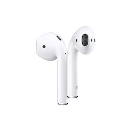b Apple AirPods met oplaadcase /b