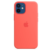 Apple iPhone 12 mini Silicone Case with MagSafe - Pink Citrus