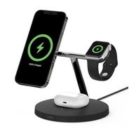 Belkin Boost Charge Pro MagSafe 3-in-1 Wireless Charger - Black