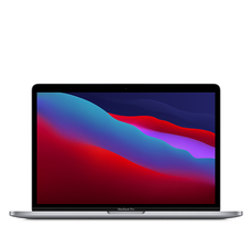 MacBook Pro 13  M1 chip with 8-core CPU and 8-core GPU  8GB  256GB SSD - Space Grey