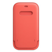 Apple iPhone 12 / 12 Pro Leather Sleeve with MagSafe - Pink Citrus