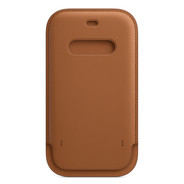 Apple iPhone 12 / 12 Pro Leather Sleeve with MagSafe - Saddle Brown