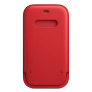 Apple iPhone 12 / 12 Pro Leather Sleeve with MagSafe -  PRODUCT RED