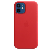 Apple iPhone 12 mini Leather Case with MagSafe -  PRODUCT RED