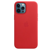 Apple iPhone 12 Pro Max Leather Case with MagSafe -  PRODUCT RED