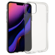 Accezz Clear Backcover for iPhone 11 - Transparent