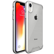 Accezz Xtreme Impact Backcover for iPhone XR - Transparent