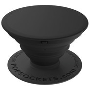 PopSockets - PopGrip Aluminum Black