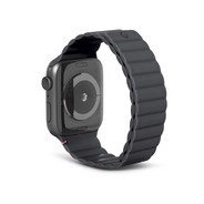 Decoded Silicon Magnetic Traction Strap for Apple Watch 42/44mm - Charcoal