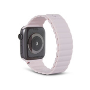 Decoded Silicon Magnetic Traction Strap for Apple Watch 42/44mm - Powder Pink