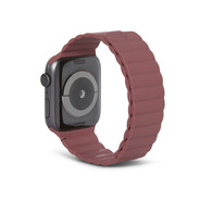 Decoded Silicon Magnetic Traction Strap for Apple Watch 42/44mm - Rust