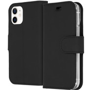 Accezz Wallet Softcase Booktype for iPhone 12 mini - Black