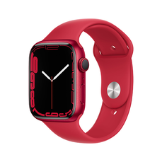 Apple Watch Series 7 GPS  45mm  PRODUCT RED Aluminium Case with  PRODUCT RED Sport Band - Regular