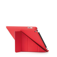 Pipetto Origami PU iPad 2/3/4 - Red