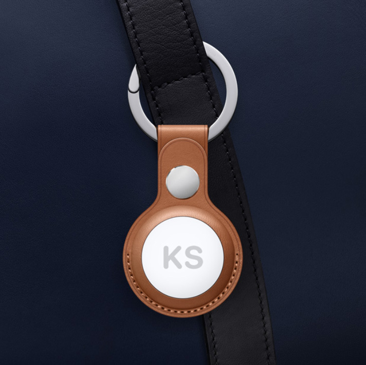 AirTag, Leather Key Ring
