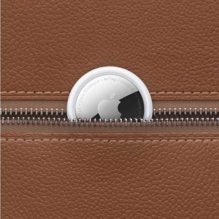 AirTag, Brown Leather