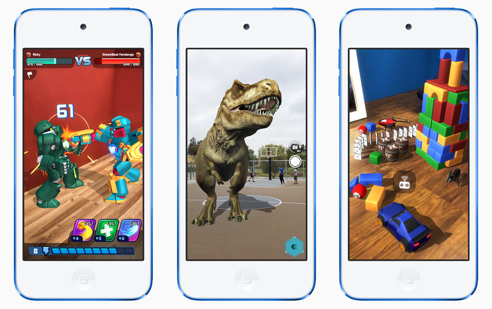 iPod touch Augmented reality.